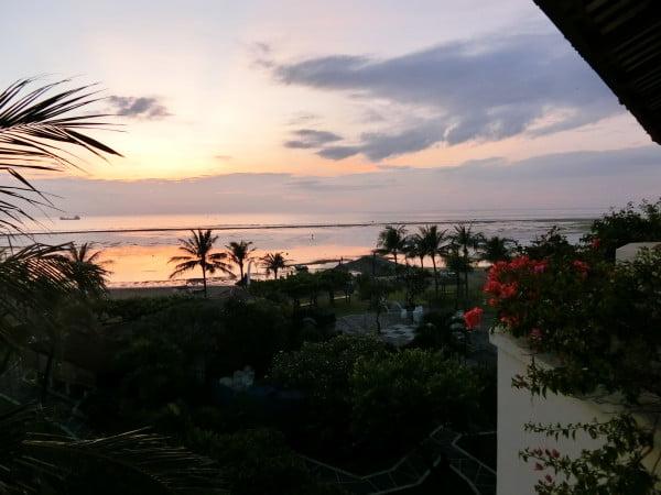 Bali Grand Mirage Resort Sunrise Flowers