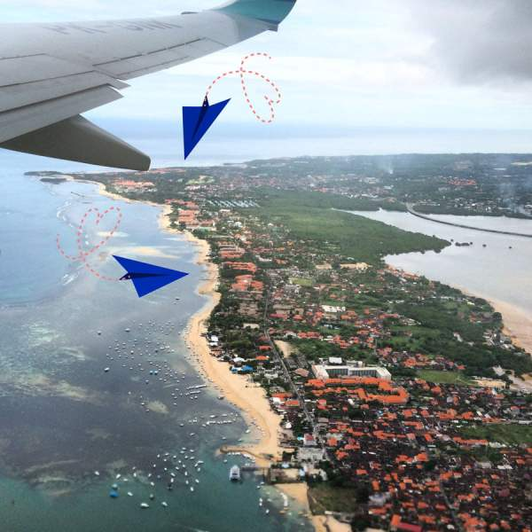 Bali Nusa Dua Plane