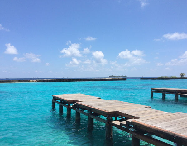 Club Med Kani Maldives Airport Blue