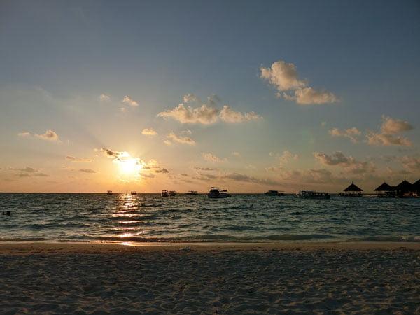Club Med Kani Maldives Beach Sunset