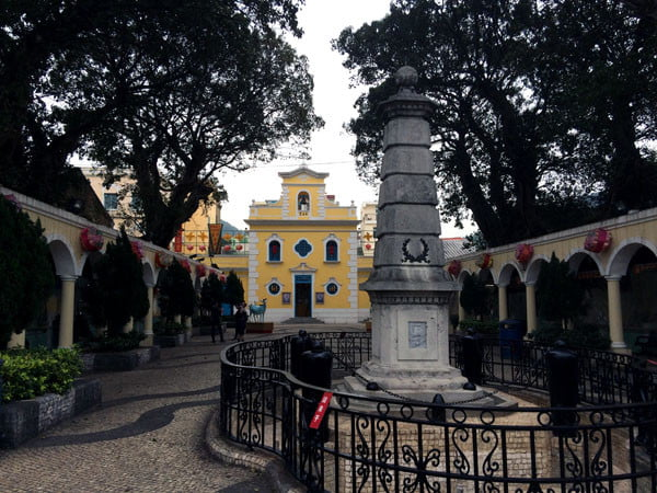 Macau Coloane Monument