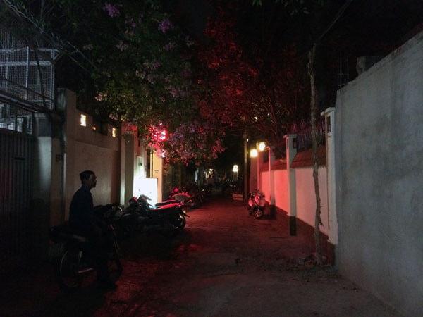 Vietnam Ho Chi Minh Vespa Acoustic Bar Exterior