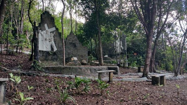 Bintan Grotto Santa Maria Ruins