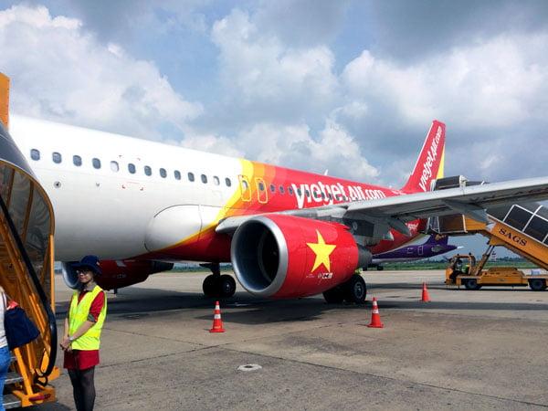 Vietnam Ho Chi Minh VietJetAir Tarmac
