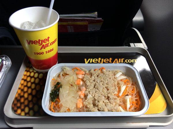 Vietnam Ho Chi Minh VietJetAir food