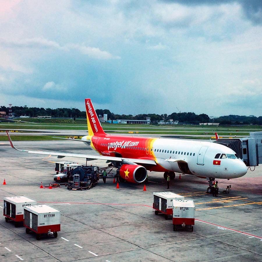 Vietnam Ho Chi Minh VietJetAir