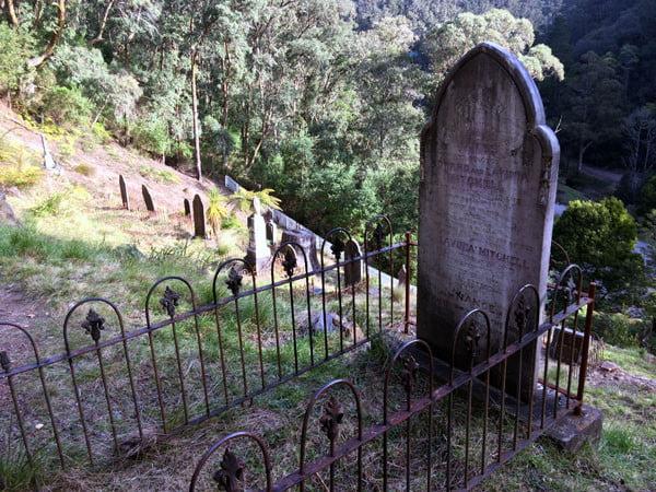 Gippsland Walhalla Cemetery Grave