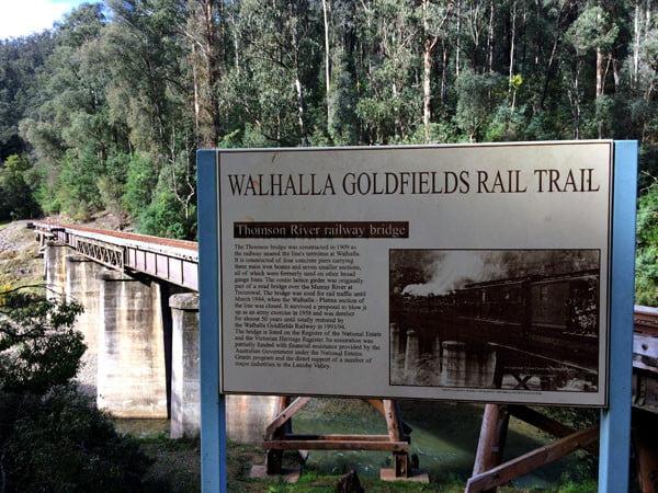 Gippsland Walhalla Goldfields Railway Bridge