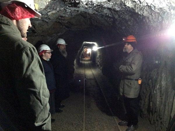 Gippsland Walhalla Mine Tour Tunnel