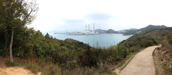 Hong Kong Lamma Island - Hung Shing Ye Bay Lamma Power Station