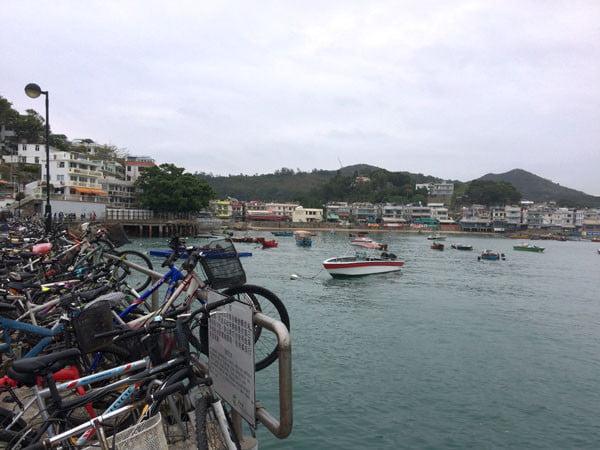 Hong Kong Lamma Island - Yung Shue Wan Jetty