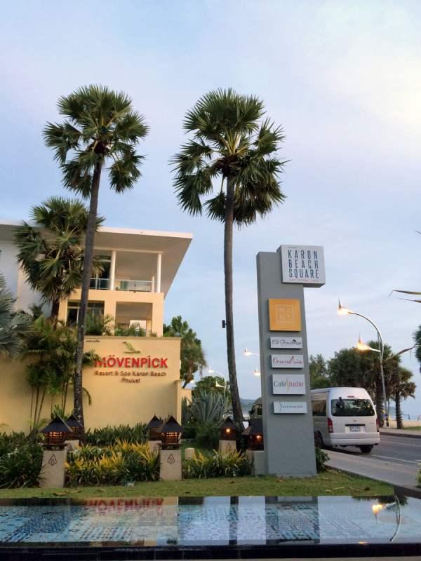 Phuket Moevenpick Resort Karon Beach Square