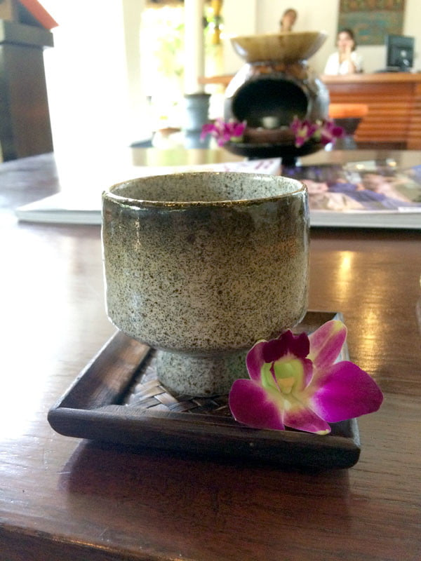 Phuket Moevenpick Resort Spa Tea