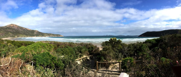 Gippsland Wilsons Promontory Norman Bay Pano