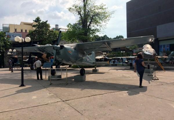 Vietnam Ho Chi Minh War Remnants Museum Plane