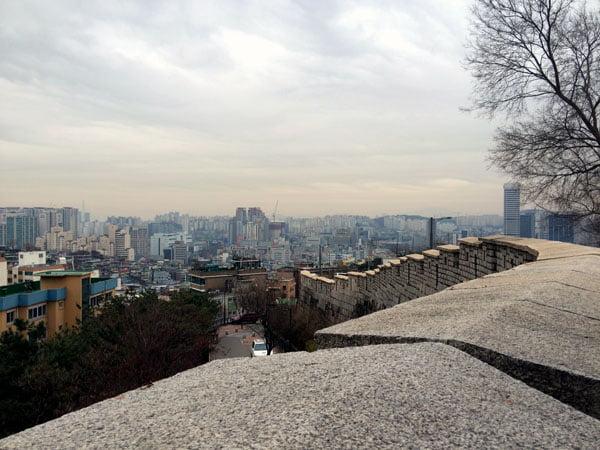 Seoul Ihwa Mural Village City Walls