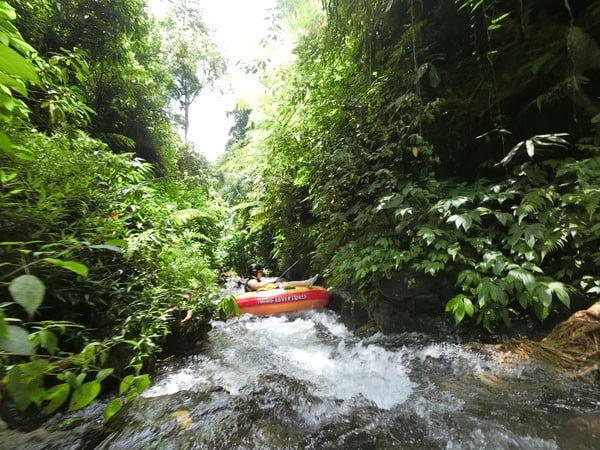 Bali Casio Canyon Tubing Tube