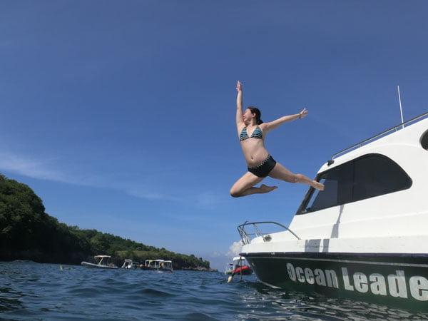 Bali Casio Snorkeling Jumpshot