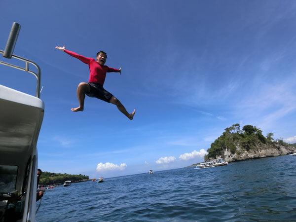 Bali Casio Snorkling Jumpshot J Red