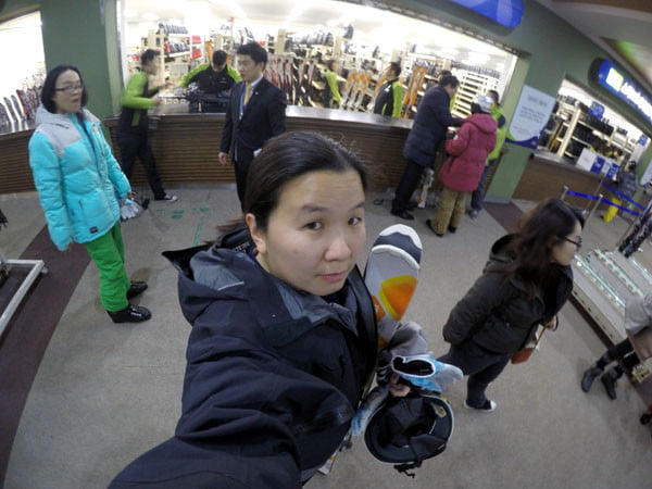Gangwon High1 Ski Resort Gear