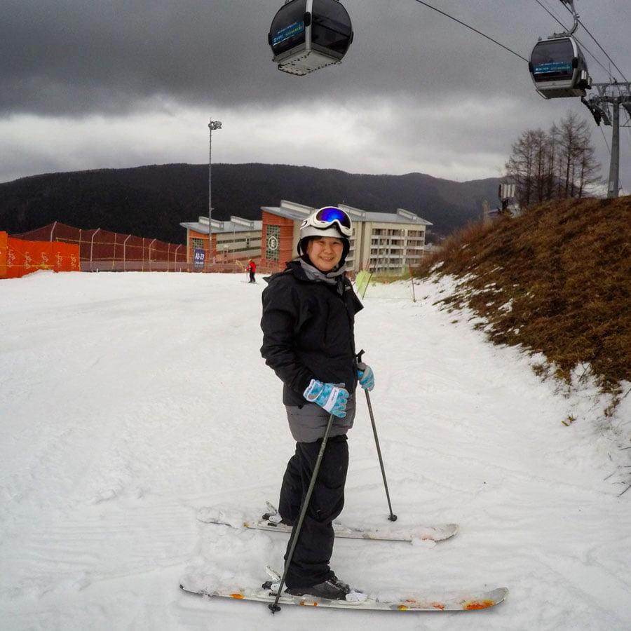 Gangwon High1 Ski Resort Jac Skiing