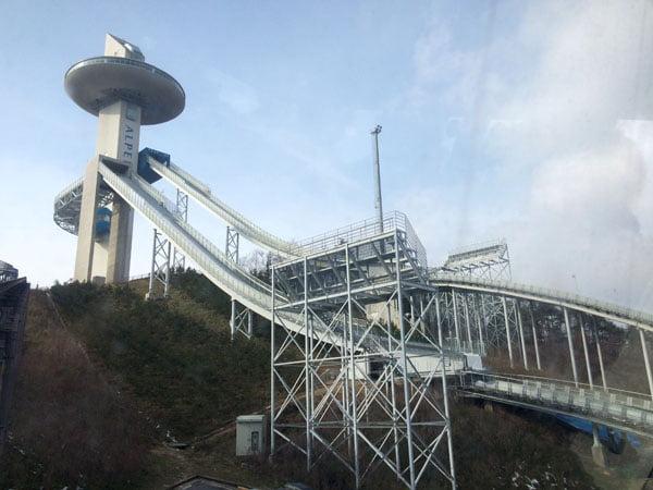 Pyeongchang Alpensia Side View