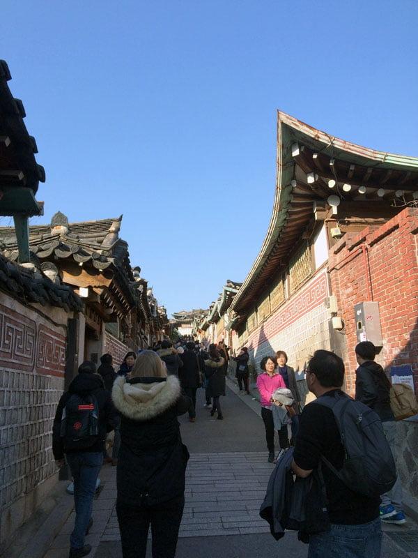 Seoul Bukchon Hanok Slope
