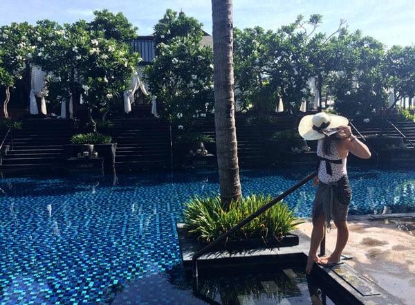 Bali St Regis Saltwater Pool