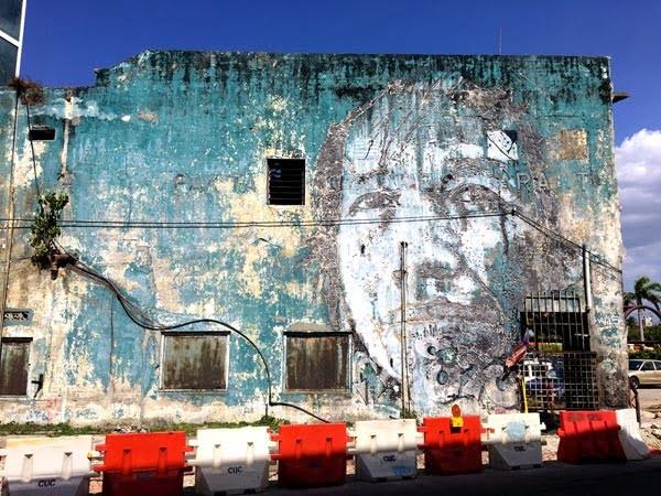 Penang Street Art - Butterworth Vhils