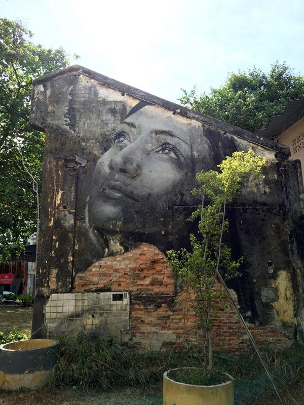 Penang Street Art - Hin Bus Depot Rone