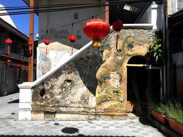 Penang Street Art - Jalan Nagore idrawalot