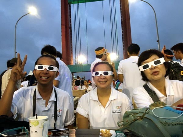 South Sumatra Palembang Eclipse Glasses