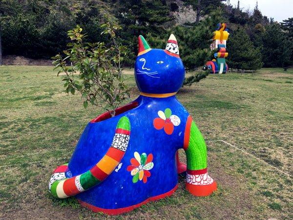 Naoshima - Benesse Park Cat
