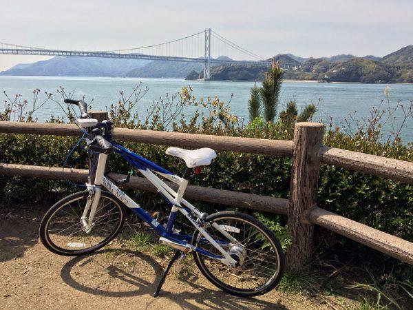 Shimanami Kaido - Mukaishima Bike Innoshima Bridge