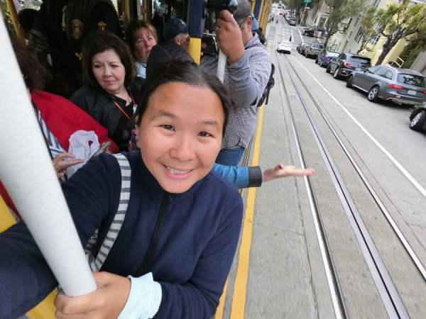 San Francisco - Cable Car on the go