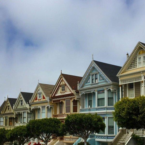 San Francisco - Painted Ladies