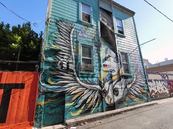 San Francisco Street Art Clarion 2