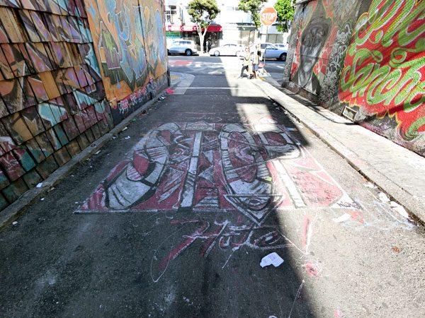 San Francisco Street Art Clarion 3