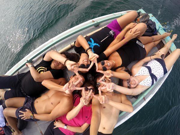 South Sumatra Ranau Lake Boat Star