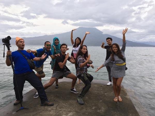South Sumatra Ranau Lake Wisma Pusri Jetty Bloggers