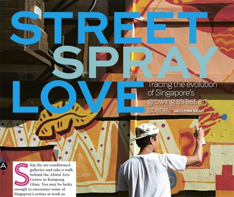 A List Street Spray Love