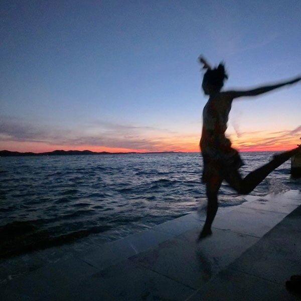 Croatia Zadar Sea Organ Jumpshot
