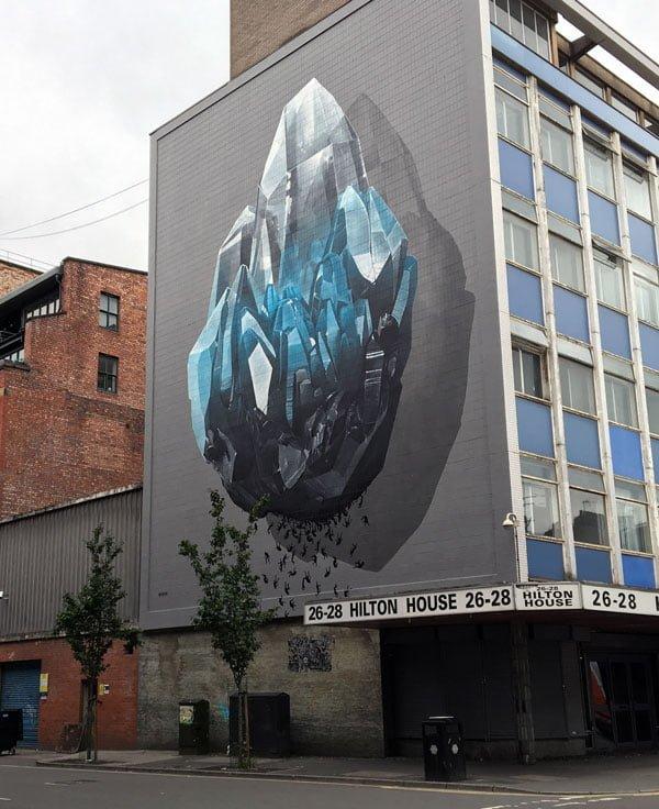 Manchester Street Art Nevercrew Side