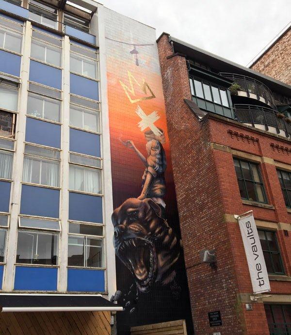 Manchester Street Art Nomad Clan