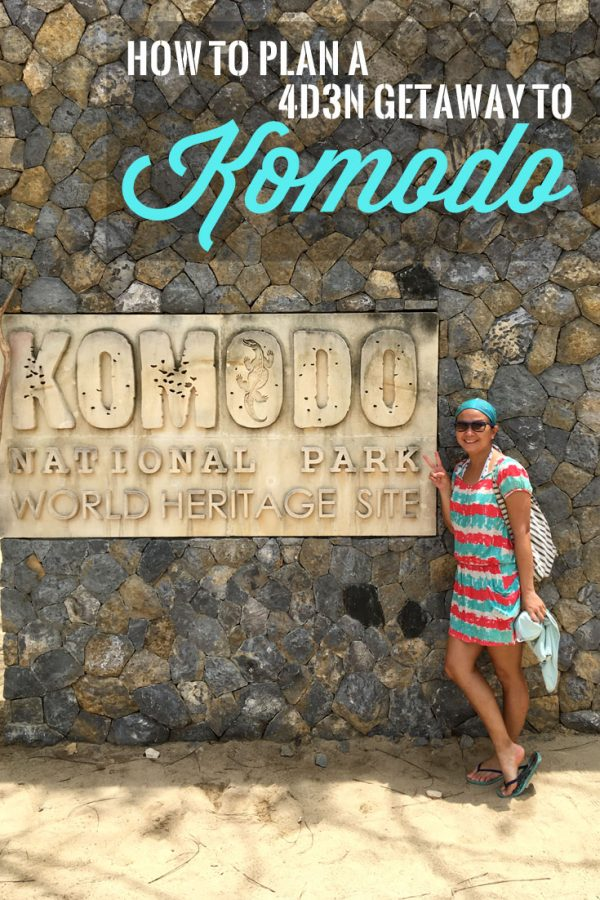 Pin it: Plan a 4D3N trip to Komodo