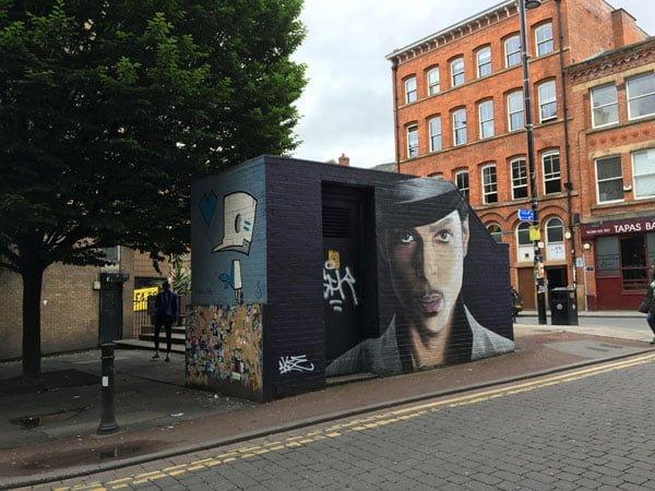 Manchester Street Art Akse Prince