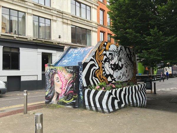 Manchester Street Art Stripes