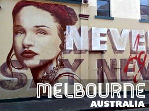 Street Art in Australia - Melbourne