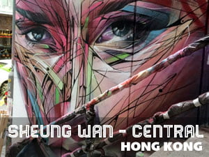 Sheung Wan and Central, Hong Kong
