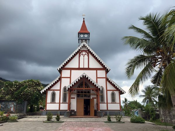 Flores Maumere Sikka Church